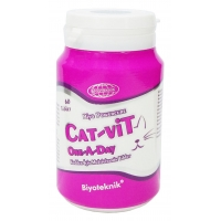 BİYOTEKNİK CAT-VİT ONE A DAY TABLET