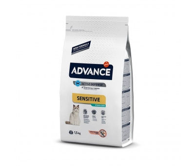 Advance Sterilized Sensitive Salmon Kedi Maması 1.5 kg