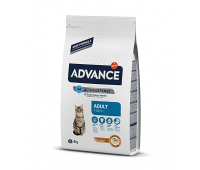 Advance Adult Chicken TAVUKLU KEDİ MAMASI 3 KG