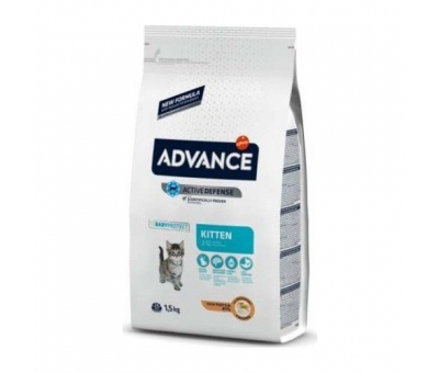 ADVANCE CAT KİTTEN CHİCKEN & RİCE TAVUKLU YAVRU KEDİ MAMASI 1,5 KG