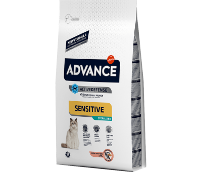 ADVANCE CAT STERİLİZED SENSİTİVE SALMON SOMONLU KISIRLAŞTIRILMIŞ KEDİ MAMASI 3 KG